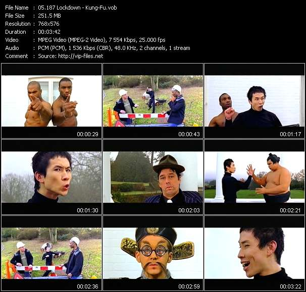 Screenshot of Music Video 187 Lockdown - Kung-Fu