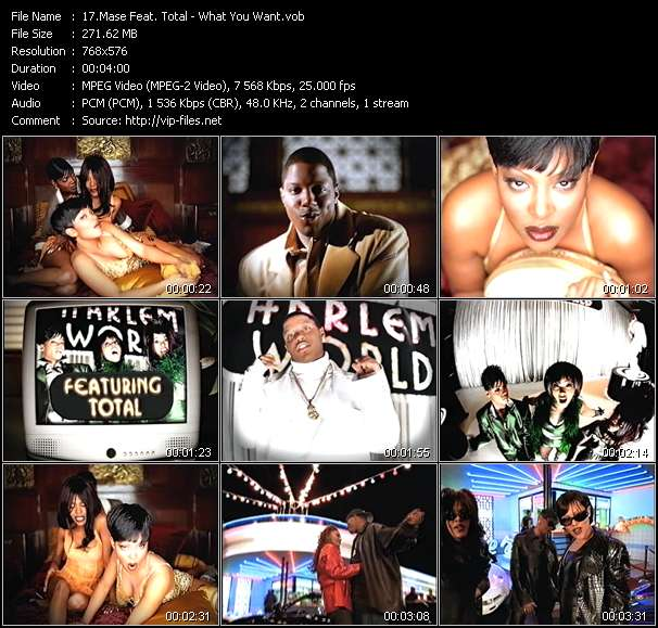 Mase Feat. Total video vob