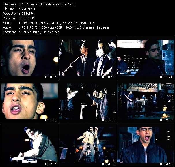 Asian Dub Foundation video vob