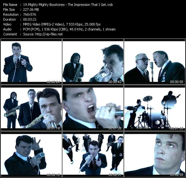 Mighty Mighty Bosstones video vob