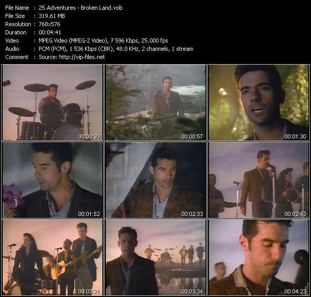 Screenshot of Music Video Adventures - Broken Land