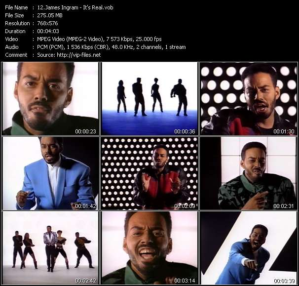 James Ingram video vob