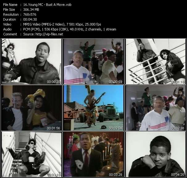 Young MC video vob