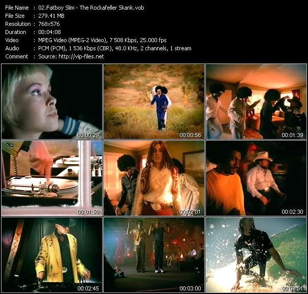 Screenshot of Music Video Fatboy Slim - The Rockafeller Skank