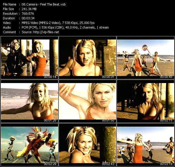 Screenshot of Music Video Camisra - Feel The Beat