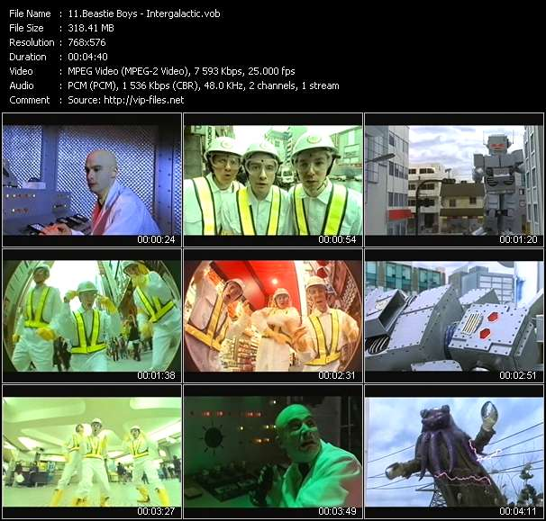 Beastie Boys video vob