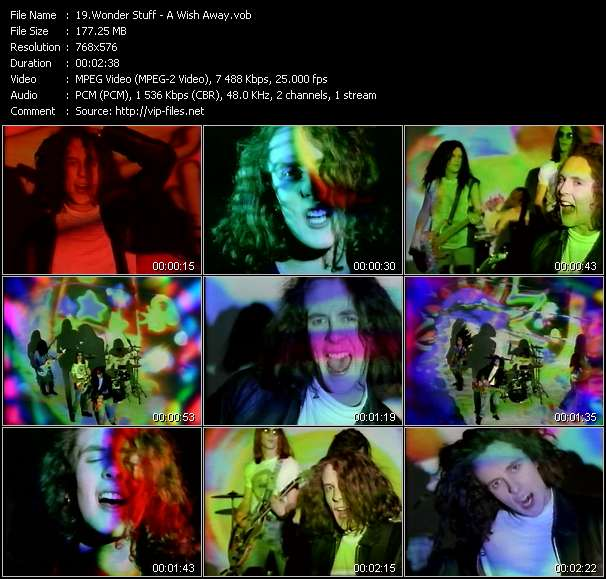 Wonder Stuff video vob