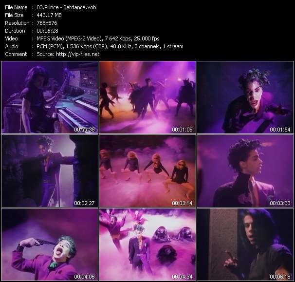 Prince видеоклип vob
