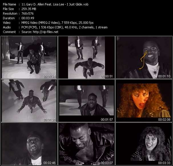 Gary D. Allen Feat. Lisa Lee video vob