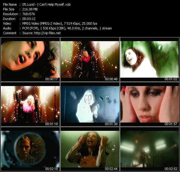 Screenshot of Music Video Lucid - I Can't Help Myself