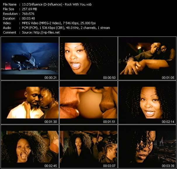 Screenshot of Music Video D'Influence (D-Influence) - Rock With You