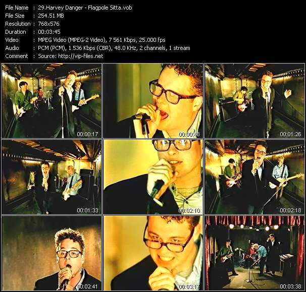 Screenshot of Music Video Harvey Danger - Flagpole Sitta