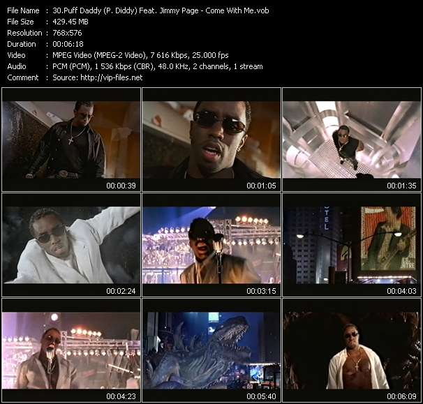 Puff Daddy (P. Diddy) Feat. Jimmy Page video vob