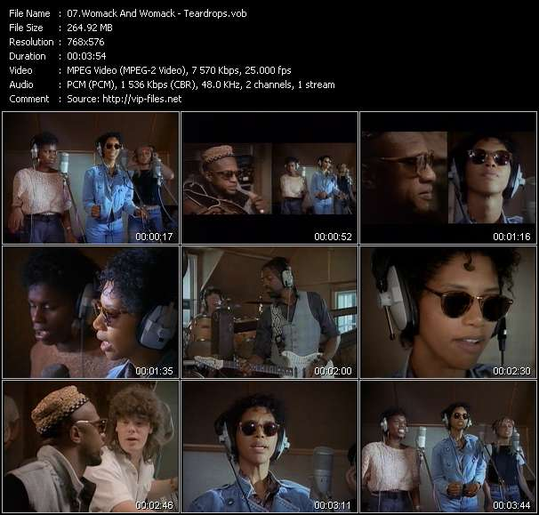 Womack And Womack video vob