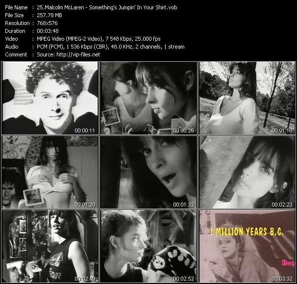 Malcolm McLaren video vob