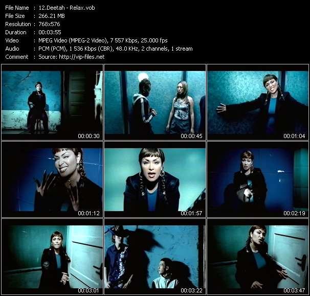 Screenshot of Music Video Deetah - Relax