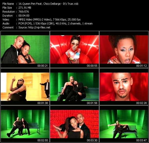 Queen Pen Feat. Chico DeBarge видеоклип vob