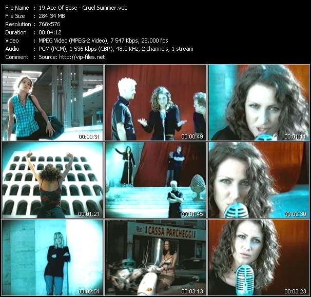 Screenshot of Music Video Ace Of Base - Cruel Summer