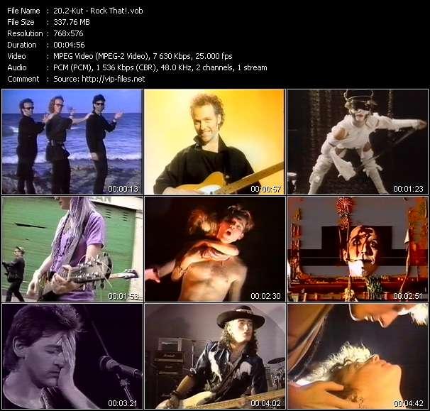 Screenshot of Music Video 2-Kut - Rock That!