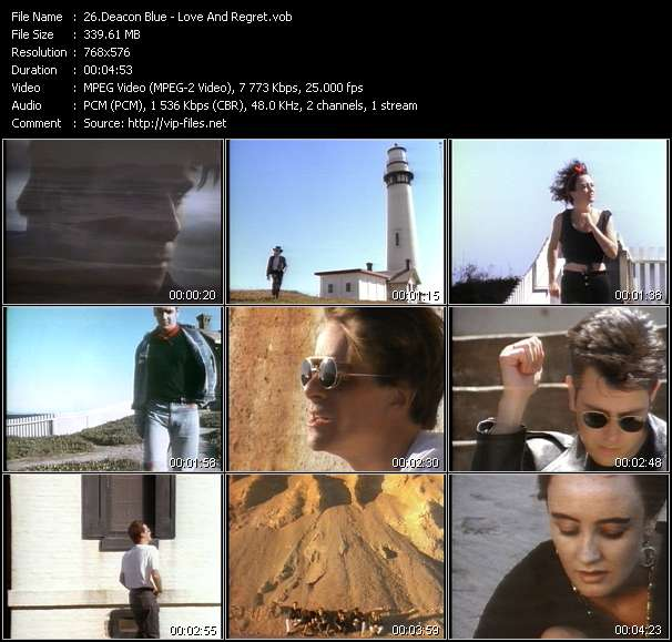 Deacon Blue video vob