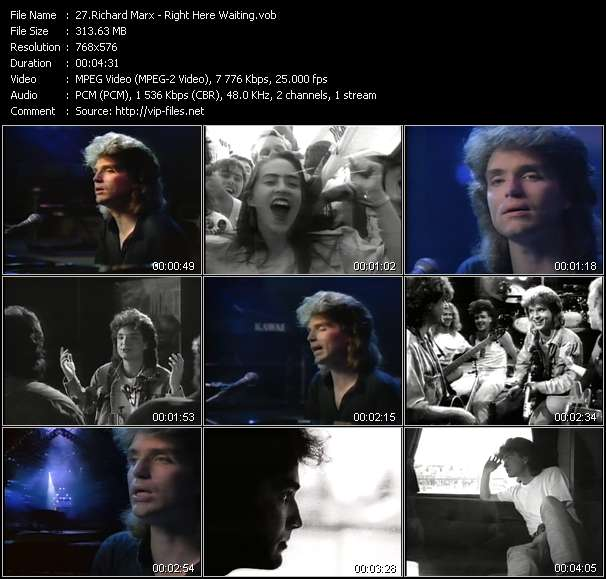 Richard Marx video vob