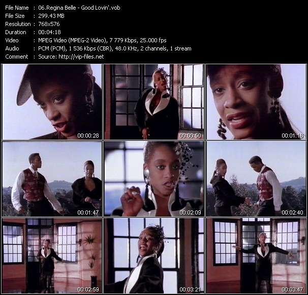 Screenshot of Music Video Regina Belle - Good Lovin'