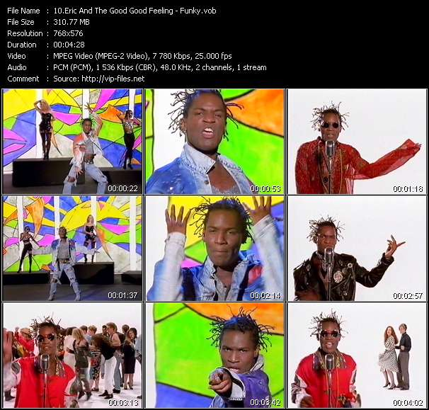 Screenshot of Music Video Eric And The Good Good Feeling - Funky