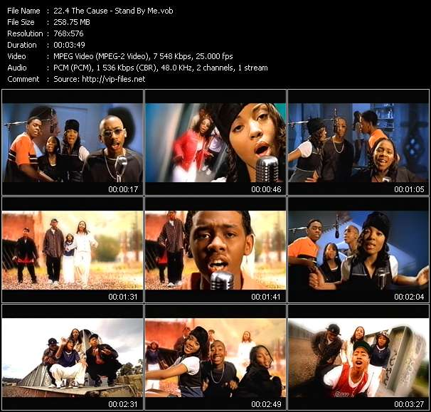 Screenshot of Music Video 4 The Cause - Stand By Me