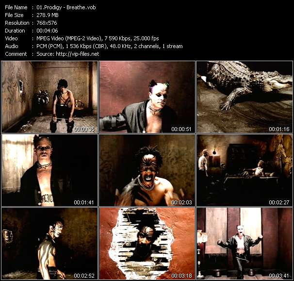 Screenshot of Music Video Prodigy - Breathe