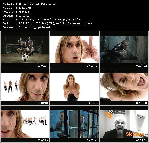 Iggy Pop video vob
