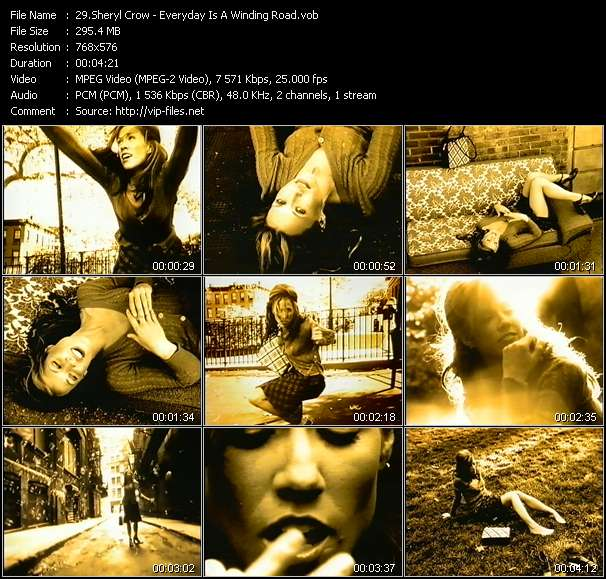 Sheryl Crow video vob