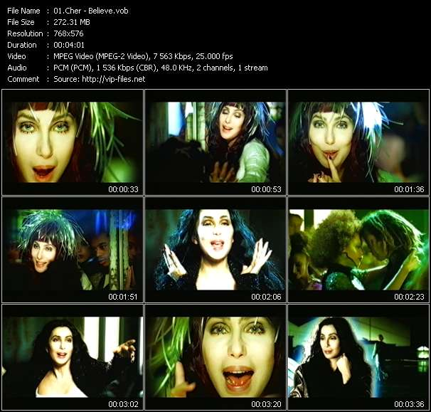 Cher video vob