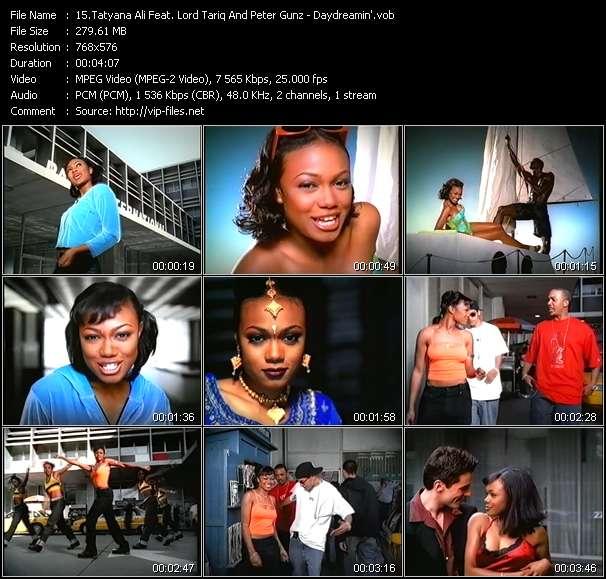 Screenshot of Music Video Tatyana Ali Feat. Lord Tariq And Peter Gunz - Daydreamin'