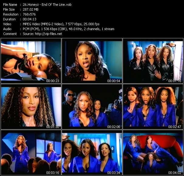 Screenshot of Music Video Honeyz - End Of The Line