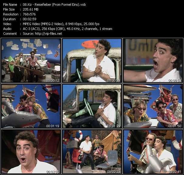 Screenshot of Music Video Kiz - Reisefieber (From Formel Eins)