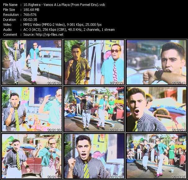 Screenshot of Music Video Righeira - Vamos A La Playa (From Formel Eins)