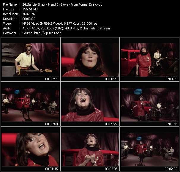 Sandie Shaw video vob