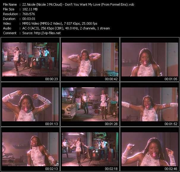 Nicole (Nicole J McCloud) video vob