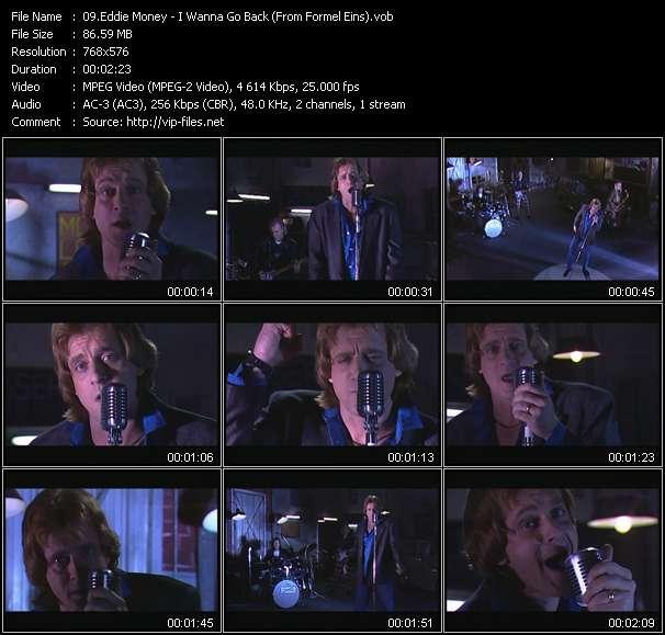 Screenshot of Music Video Eddie Money - I Wanna Go Back (From Formel Eins)