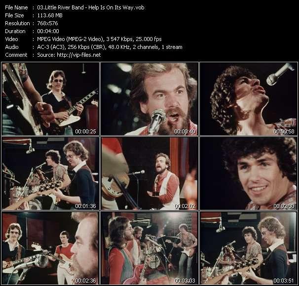 Little River Band видеоклип vob