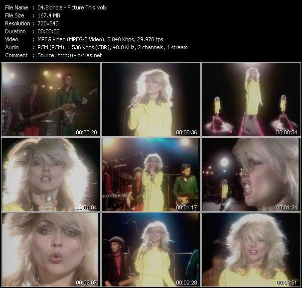 Blondie video vob