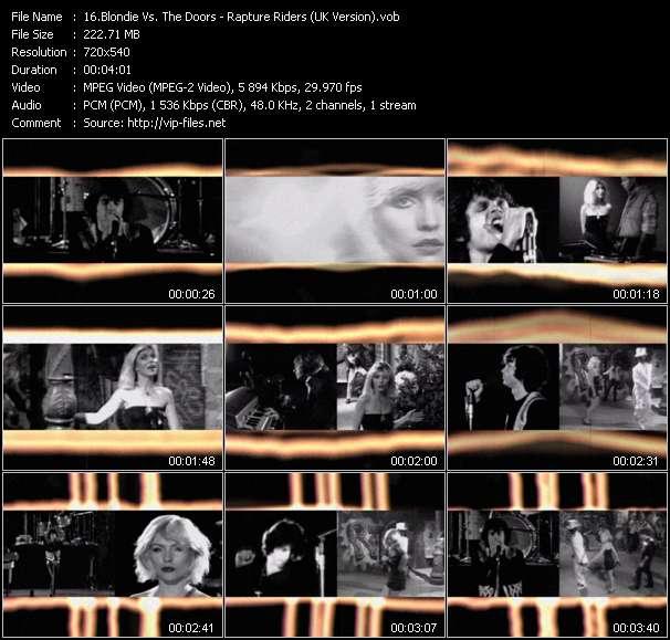 Blondie Vs. The Doors video vob