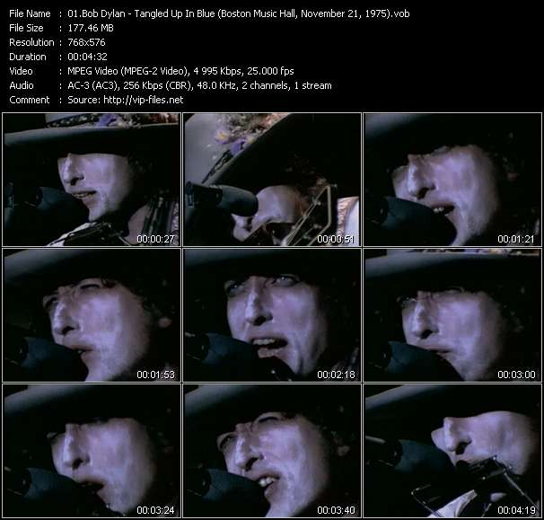 Bob Dylan video vob