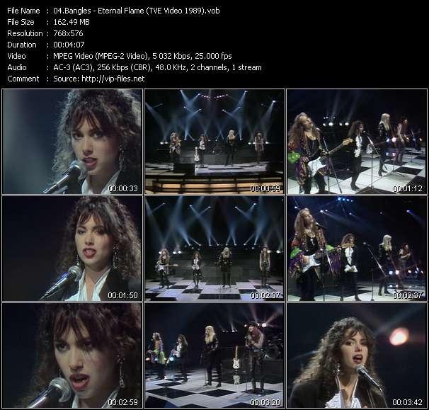 Bangles видеоклип vob