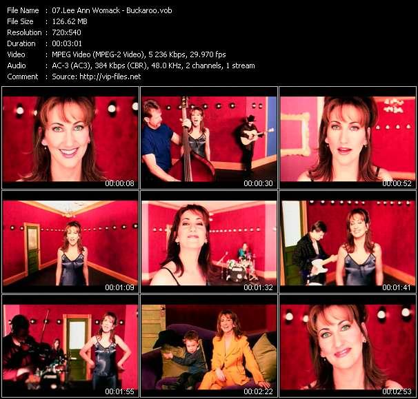 Lee Ann Womack video vob