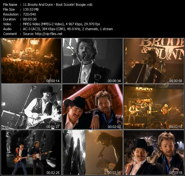 Brooks And Dunn video vob