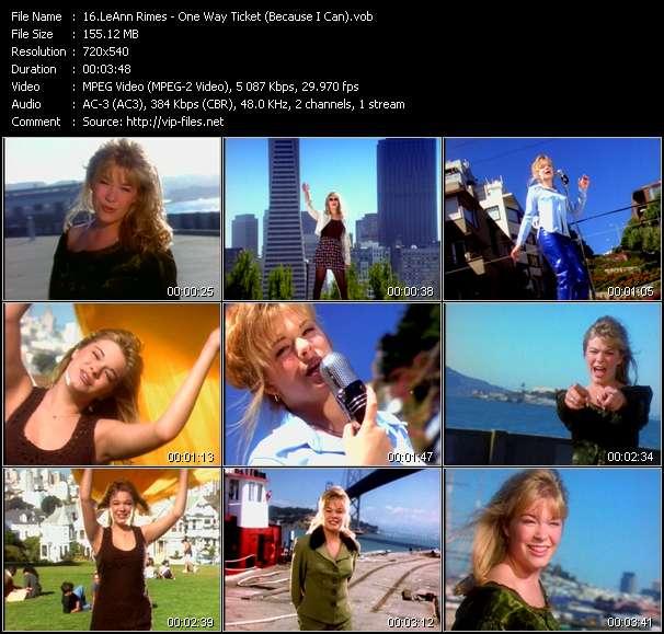LeAnn Rimes video vob