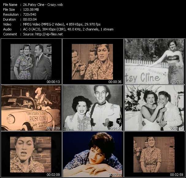 Patsy Cline video vob