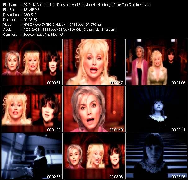 Dolly Parton, Linda Ronstadt And Emmylou Harris (Trio) video vob