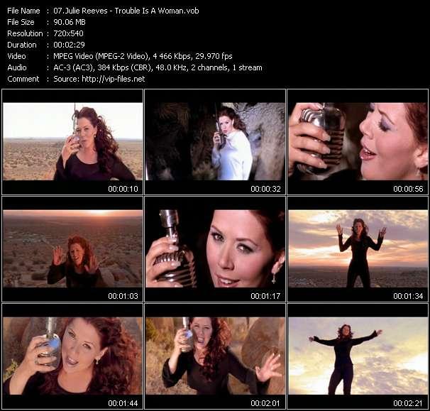 Julie Reeves clips musicaux vob
